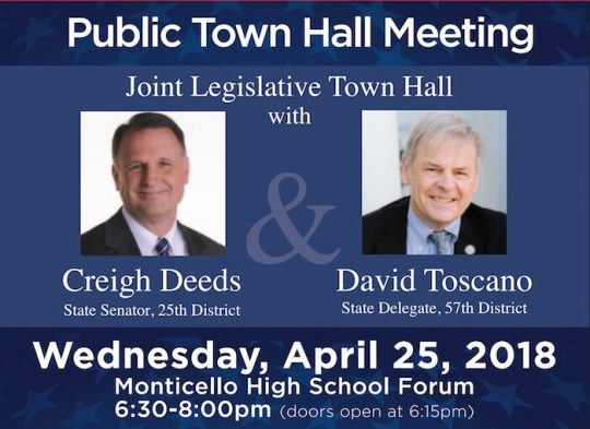 Public Town Hall Meeting April 25, 2018
