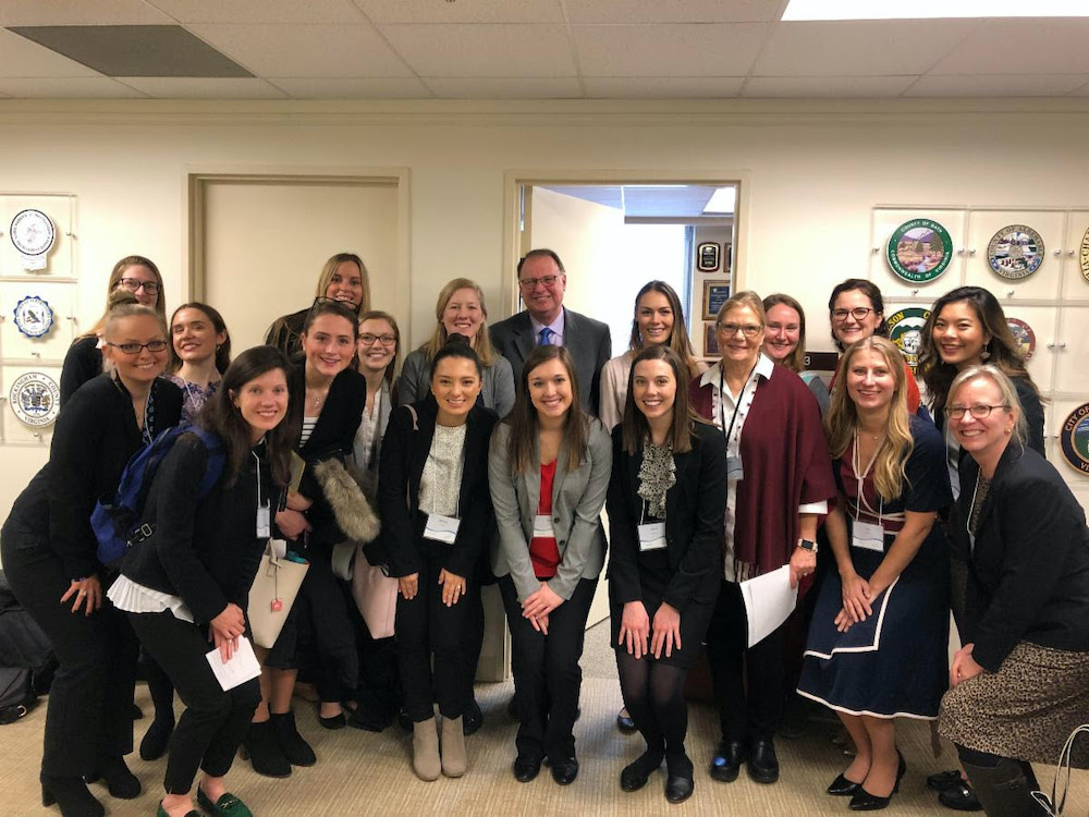 Annual Visit with the Virginia Academy of Nutrition and Dietetics