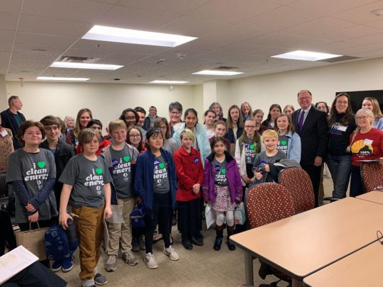 Advocacy Day for Students from Peabody School and Tandem Friends School